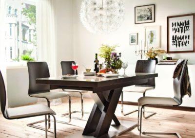 1 PAGED 2 stół NEW YORK krzesło SIENA II