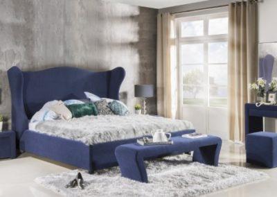 2 NEW ELEGANCE łóżko tapicerowane 13 TIFFANY