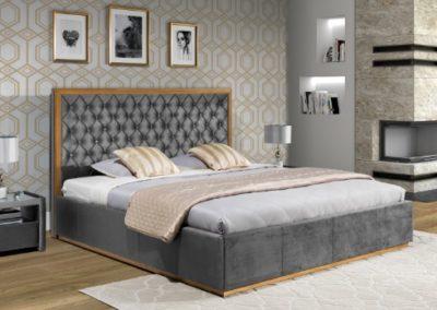 2 NEW ELEGANCE łóżko tapicerowane 14 MINI MAXI A