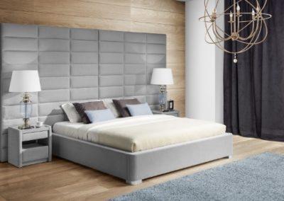 2 NEW ELEGANCE łóżko tapicerowane 14 MINI MAXI D
