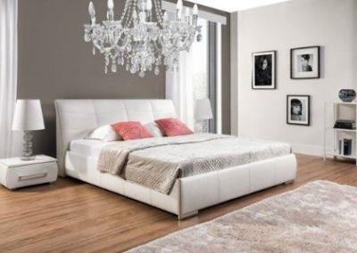 2 NEW ELEGANCE łóżko tapicerowane 2 APOLLO S