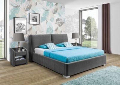 2 NEW ELEGANCE łóżko tapicerowane 3 MONACO