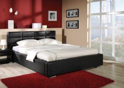 2 NEW ELEGANCE łóżko tapicerowane 6 NIKE