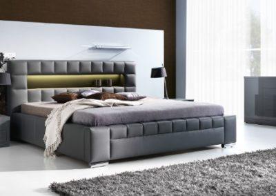 2 NEW ELEGANCE łóżko tapicerowane 7 CEZAR