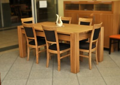 2 POTOCKI MEBLE 3 stół HUSAR krzesło TERESA