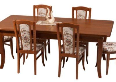 2 POTOCKI MEBLE 4 stół JÓZEF krzesło IKAR