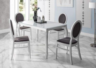 3 MEBLE NOVA 10 stół RETRO krzesło TIMI