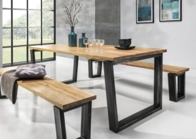 3 MEBLE NOVA 16 stół BELLINI ławka BELLINI