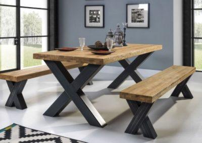3 MEBLE NOVA 18 stół MAXIMO ławka MAXIMO