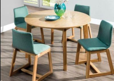3 MEBLE NOVA 5 stół SCANDI krzesło VILVANO