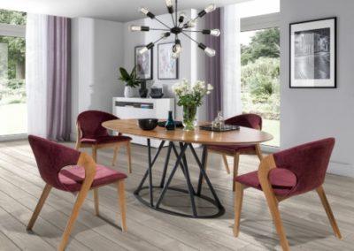 3 MEBLE NOVA 6 stół ELISSE krzesło NOBLE
