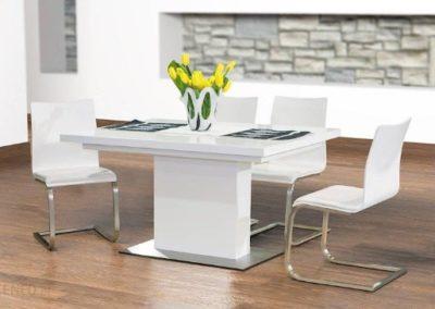 3 MEBLE NOVA 8 stół EVITA krzesło EVITA