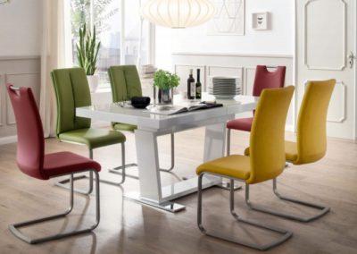 5 MC AKCENT 13 stół MANHATAN krzesła PAULO
