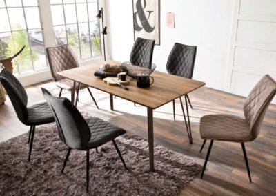 5 MC AKCENT 21 stół CORDOBA krzesła NAVARRA
