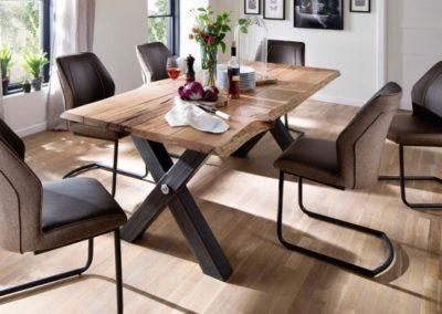 5 MC AKCENT 24 stół SAMARA krzesła ABERDEEN