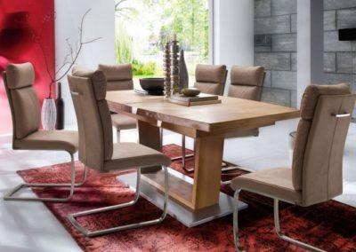 5 MC AKCENT 27 stół CATANIA krzesła RABEA