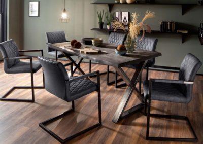 5 MC AKCENT 28 stół CALABRIA krzesła KIAN