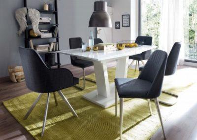 5 MC AKCENT 5 stół TRISO krzesła ELARA