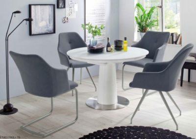 5 MC AKCENT 8 stół WARIS krzesła MADITA